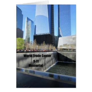 9-11 Memorial Greeting Cards
