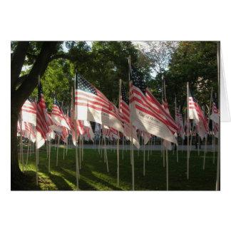 9 11 Memorial Greeting Card