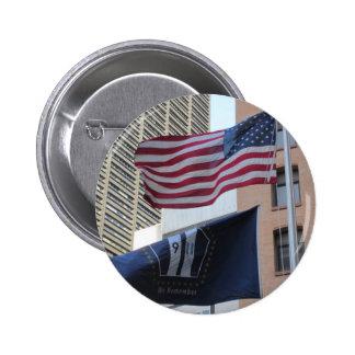 9 11 Memorial Flags Pin