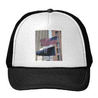 9 11 Memorial Flags Hat