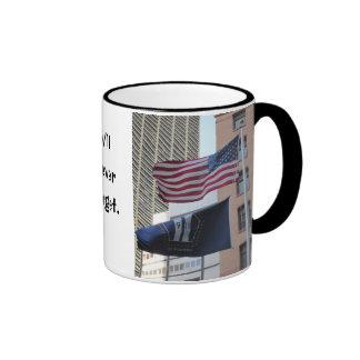 9/11 Memorial Flags Coffee Mug
