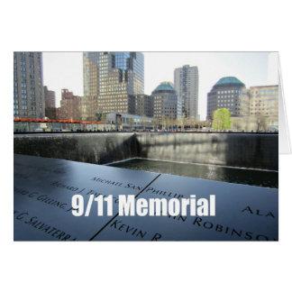 9/11 Memorial Greeting Card