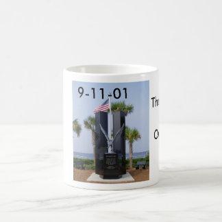 9.11 Memorial, Never Forget.., The Memory of al... Magic Mug