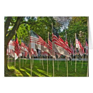 9/11 Memorial Note Card