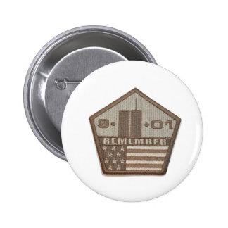 9/11 Memorial Pentagon Patch 6 Cm Round Badge