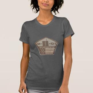 9/11 Memorial Pentagon Patch Tshirts