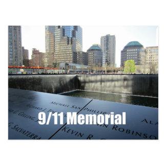 9/11 Memorial Postcard