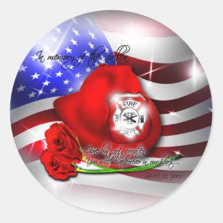 9/11 memorial Sticker