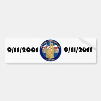 9/11 Memorial Symbol Bumper Sticker