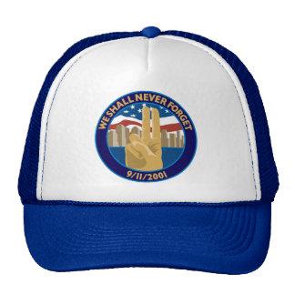 9/11 Memorial Symbol Hat