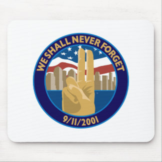 9 11 Memorial Symbol Mouse Pad
