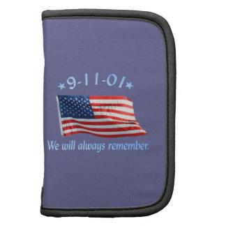 9-11 Memorial We Will Always Remember Planner