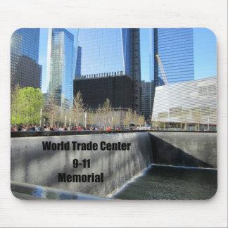 9 11 Memorial World Trade Center New York City Mouse Pad