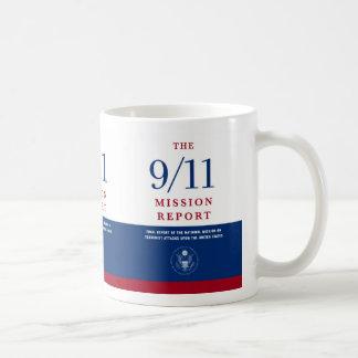 9/11 mission basic white mug