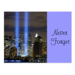 9 11 Never Forget, Always Remember Post Card