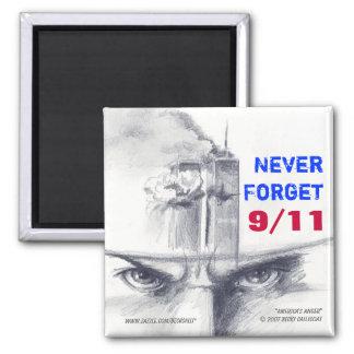 "9/11 ""Never Forget"" magnet"