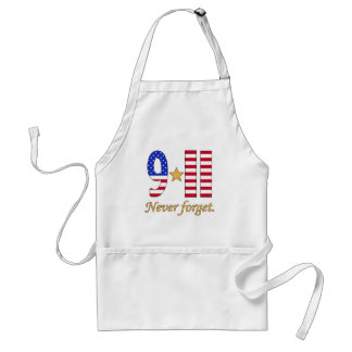 9-11 Never Forget Products Adult Apron