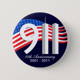 9/11 September 11th 10th Anniversary WTC Pins
