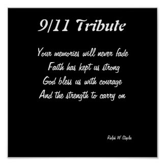 9/11 tribute prints