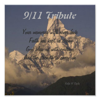 9 11 tribute prints posters