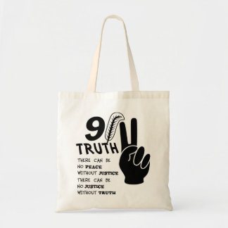 9-11 Truth No Peace Without Justice Bags