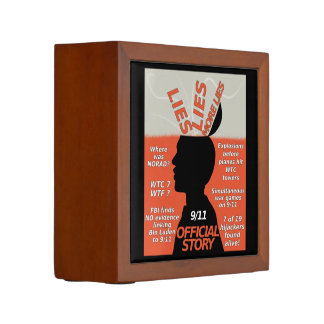 9-11 Truth Official Story Lies Pencil Holder