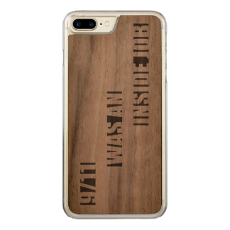 9/11 was an inside job carved iPhone 7 plus case