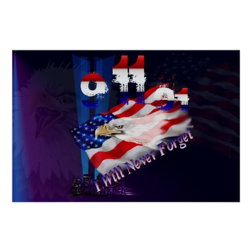 9-11I Will Never Forget-Posters