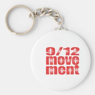 9/12 Movement Key Chains