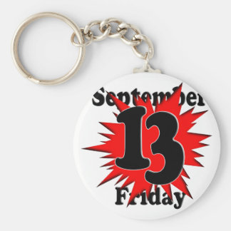 9-13 Friday the 13th Keychain