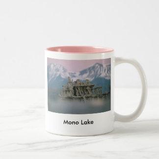 9. 300-100 Sand Tufa & Blurred Surround 7-98, 9... Two-Tone Coffee Mug