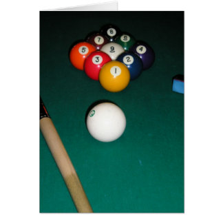 9 Ball Greeting Cards
