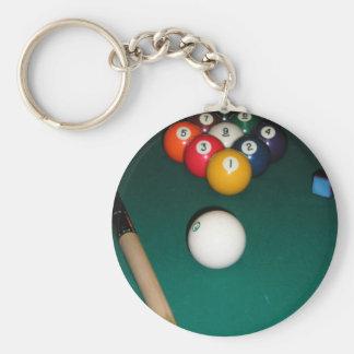 9 Ball Key Ring