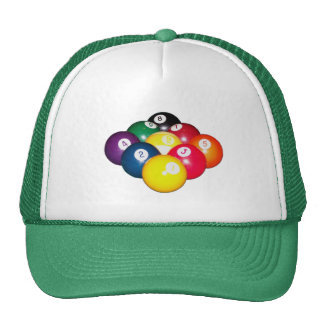 9 Ball Rack Cap