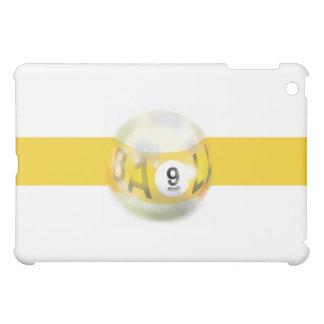 9 Ball Yellow Stripe iPad Mini Cases