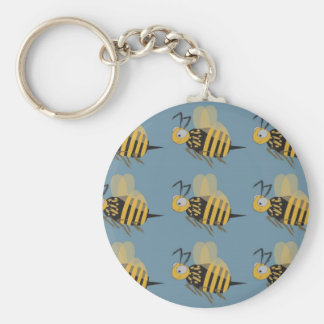 9 Bumblebees Keychains