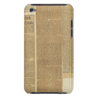 9 Clippings iPod Case-Mate Cases