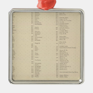 9 Congressional Districts Christmas Ornament