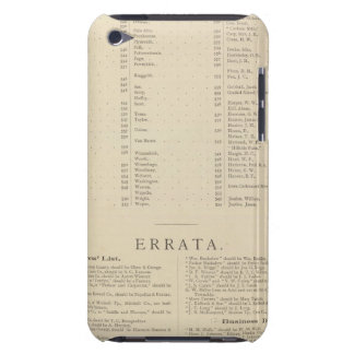 9 Congressional Districts iPod Case-Mate Case