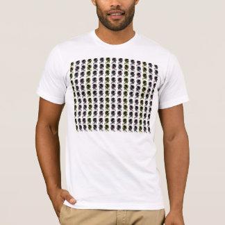 9 flower pattern T-Shirt
