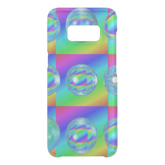 9 glass-balls different refraction uncommon samsung galaxy s8 case