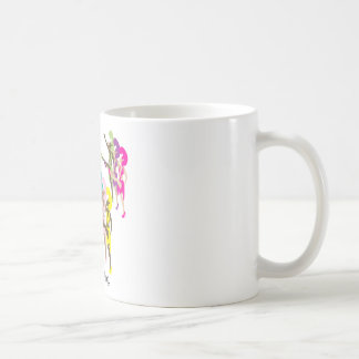 9 Ladies Dancing Basic White Mug