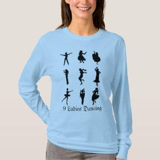 9 Ladies Dancing T-Shirt