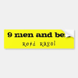 9 men and ben bumper sticker