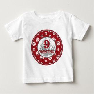 9 Months Coastal Milestone Shirts