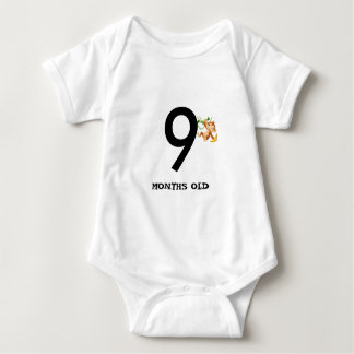 9 MONTHS OLD BABY BODYSUIT