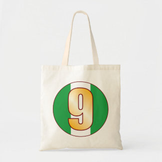 9 NIGERIA Gold Tote Bag