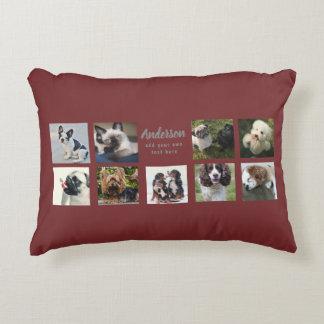 9 PET Photo MEMORIAL Collage Instagram Gift Decorative Cushion