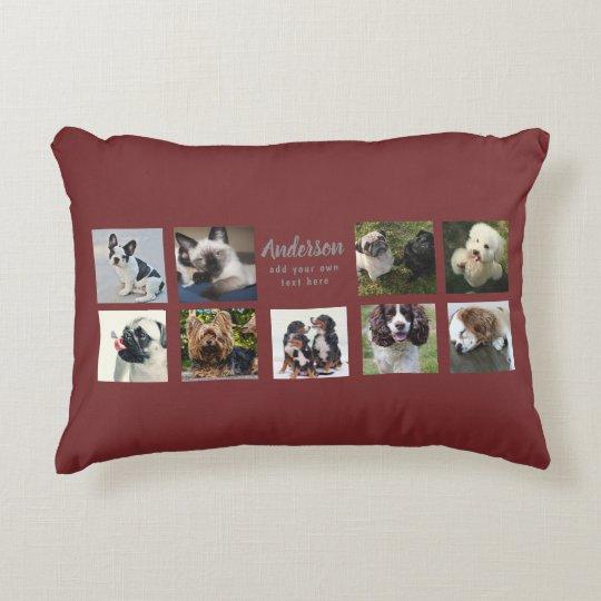 9 PET Photo MEMORIAL Collage Instagram Gift Decorative
