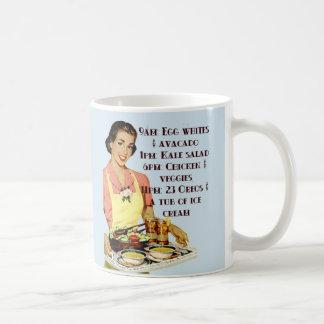 9am Ice Cream Diet Mug Retro